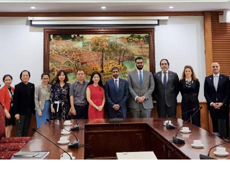 Đoàn công tác chuyên trách EXPO 2020 Dubai, UAE do Trợ lý Bộ trưởng Bộ Ngoại giao UAE dẫn đầu sang thăm và làm việc tại Việt Nam.