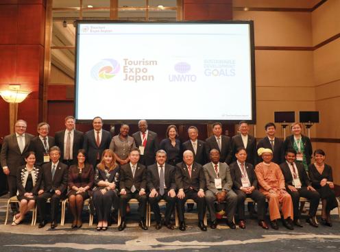 Toạ đàm Bộ trưởng du lịch trong khuôn khổ Hội chợ Du lịch Quốc tế EXPO Nhật Bản 2019 tại Osaka, Nhật Bản