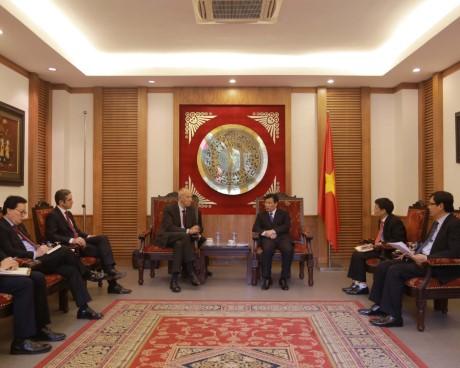 Bộ trưởng Nguyễn Ngọc Thiện tiếp Tổng Giám đốc Tổ chức Sở hữu Trí tuệ thế giới (WIPO)