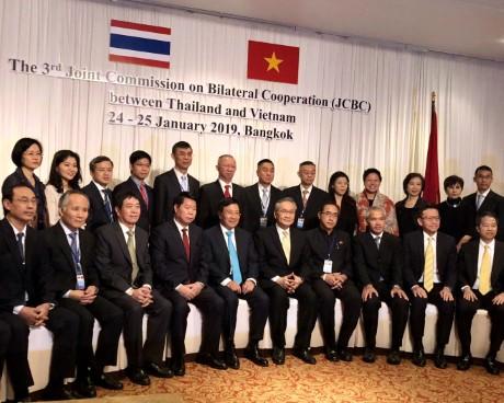 Kỳ họp lần thứ ba Uỷ ban hỗn hợp về hợp tác song phương giữa Việt Nam và Thái Lan