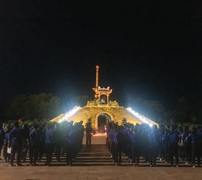Chi đoàn thanh niên Cục Hợp tác Quốc tế và  hành trình về vùng đất lửa Quảng Trị