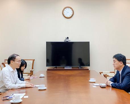 Phó Cục trưởng Lê Ngọc Định đã tiếp và làm việc với ông Furudate Seiki, Bí thư thứ nhất của Đại sứ quán Nhật Bản tại Việt Nam