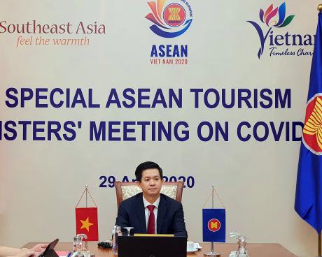 Hội nghị đặc biệt Bộ trưởng Du lịch ASEAN về COVID-19