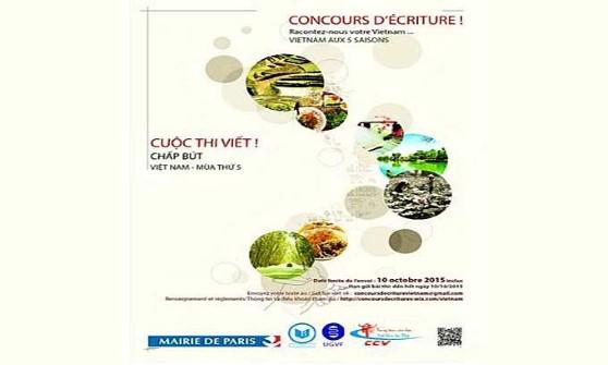 Cuộc thi viết tìm hiểu Việt Nam tại Pháp